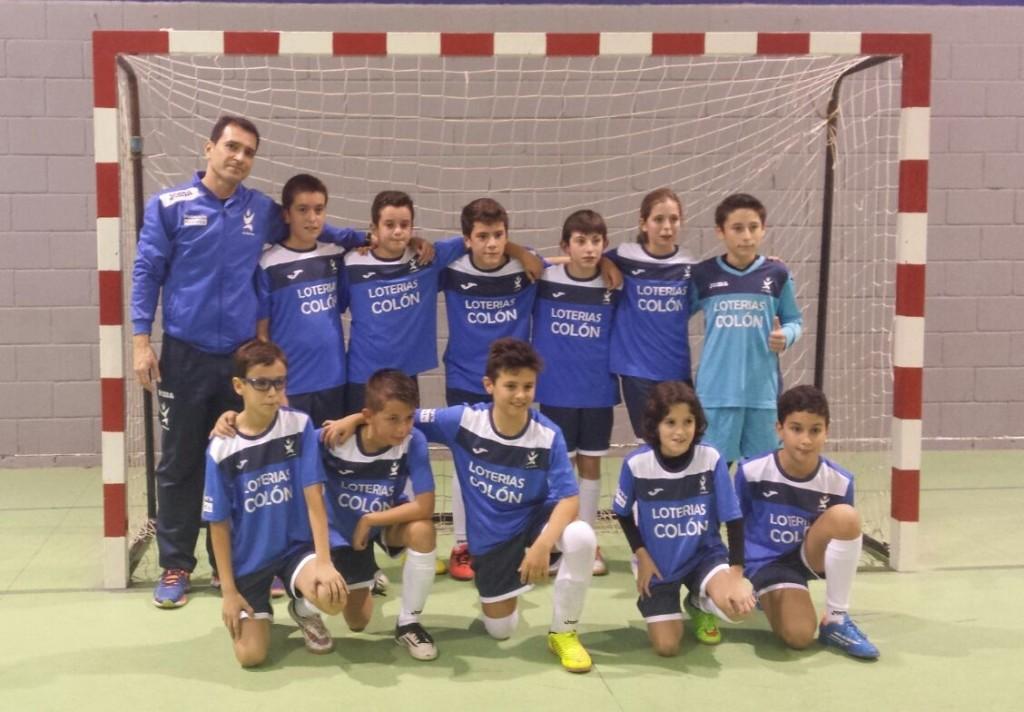 Alevin A futbol sala