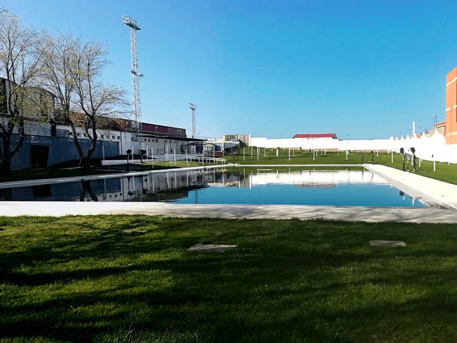 Instalaciones en Arroyo de la Luz del Campus de Fútbol Pebetero - 2019
