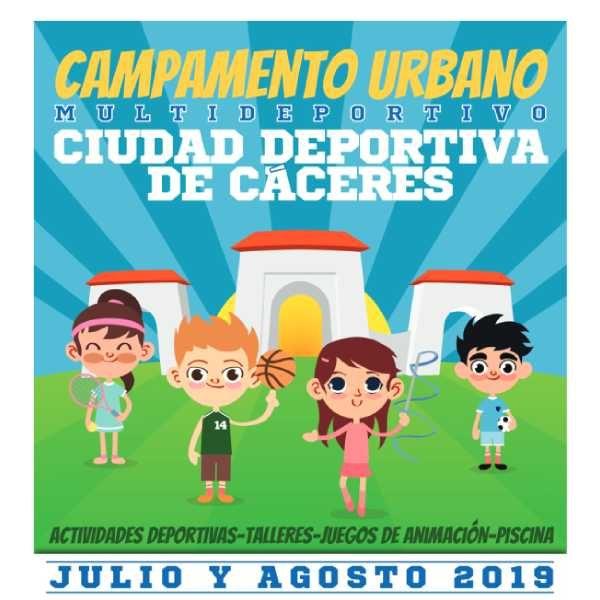 Campamento Urbano Ciudad Deportiva (Cáceres) 2019 1