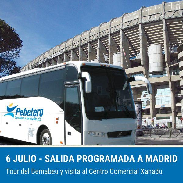 Salida programada a Madrid (6 de julio de 2019) 1