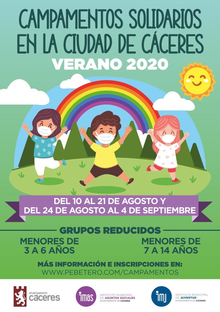 Campamentos Solidarios en la Ciudad de Cáceres
